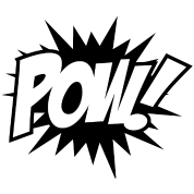 POW Comic Book Sound Effects