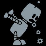 Puking Robot