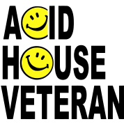 Acid House Veteran Smiley Logo
