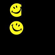 Acid House Veteran Smiley Logo
