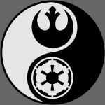 Star Wars Yin Yang 2-Color