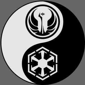 Star Wars SWTOR Yin Yang 2-Color