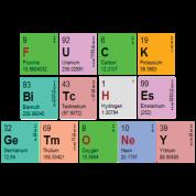 Pimptastic Periodic Table