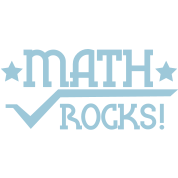 math rocks with divide symbol and stars