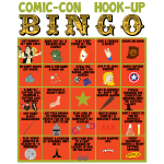Comic Con Hook Up Bingo