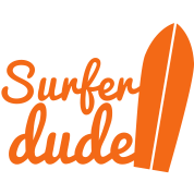 surfer dude with surf board
