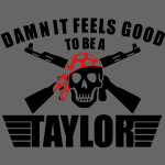 Damn It Feels Good To Be A Taylor - stayflyclothing.com