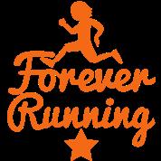 FOREVER RUNNING runner with sports star