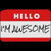 Hello, I'm Awesome
