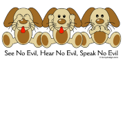 See No Evil Puppies