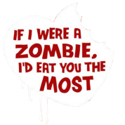 If i were a zombie...