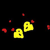 Free hugs yellow birds 2