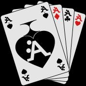 I Love A-Style Poker