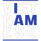 I AM VIETNAMESE (blue with bands)