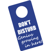 DON'T DISTURB!