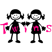 Twin girls
