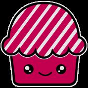Kawaii cupcake (fairy cake) muffin