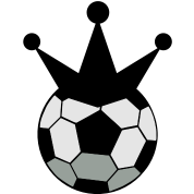 soccer ball sports king with crown