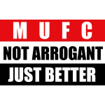 Not arrogant just better flag