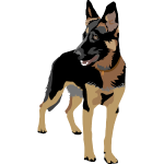 German Shepherd (ADD CUSTOM TEXT)