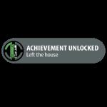 Achievement Unlocked: Left The House