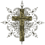 Ornate Cross - HD Design
