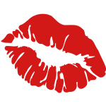 ♥ټXx Red Hot Luscious Kissy Sensual Lips xXټ♥