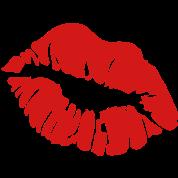 ۞»♥ټRed Hot Luscious Hot Kissy Lips-Vectorټ♥«۞