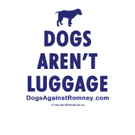 Design ~ dogsarentluggage_blue