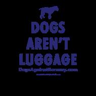 Design ~ dogsarentluggage_blue