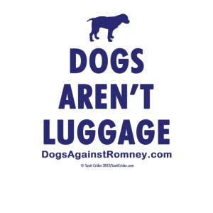 dogsarentluggage blue