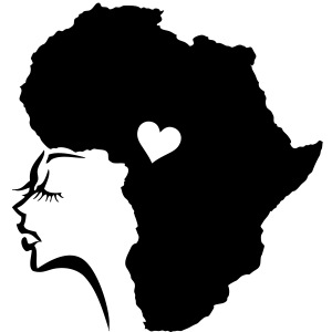 African Woman Hair Love