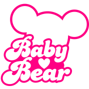 BABY BEAR (new) with teddy shape