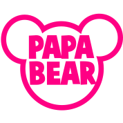 PAPA BEAR in a teddy shape super cute!