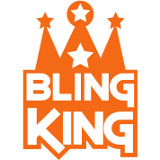 BLING KING with crown and stars