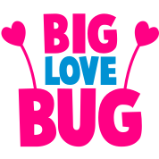 BIG LOVE BUG with cute little antennae