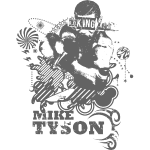 Mike Tyson KO King (Gray)