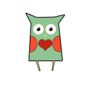 Valentines day Love Owl