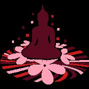 A Buddha Mandala water lily