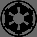Star Wars Imperial Logo 1-Color