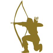 longbow english archer medieval symbol