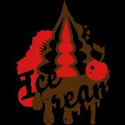 Ice Cream with Cherry