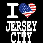 i love jersey city - white