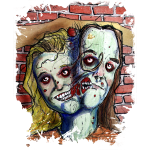 conjoined zombies