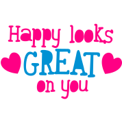 happy looks great on you