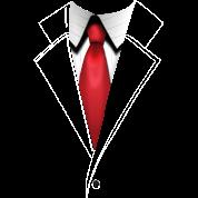 Agent 47's Hitman Suit - Plain - Men's