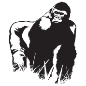 King Gorilla HD Design