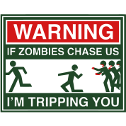 Warning Zombies