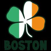 Boston w/Irish Flag