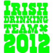 IRISH DRINKING TEAM 2012 St Patricks day design